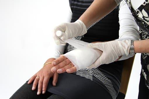 נכות מתאונת עבודה - פציעה ביד