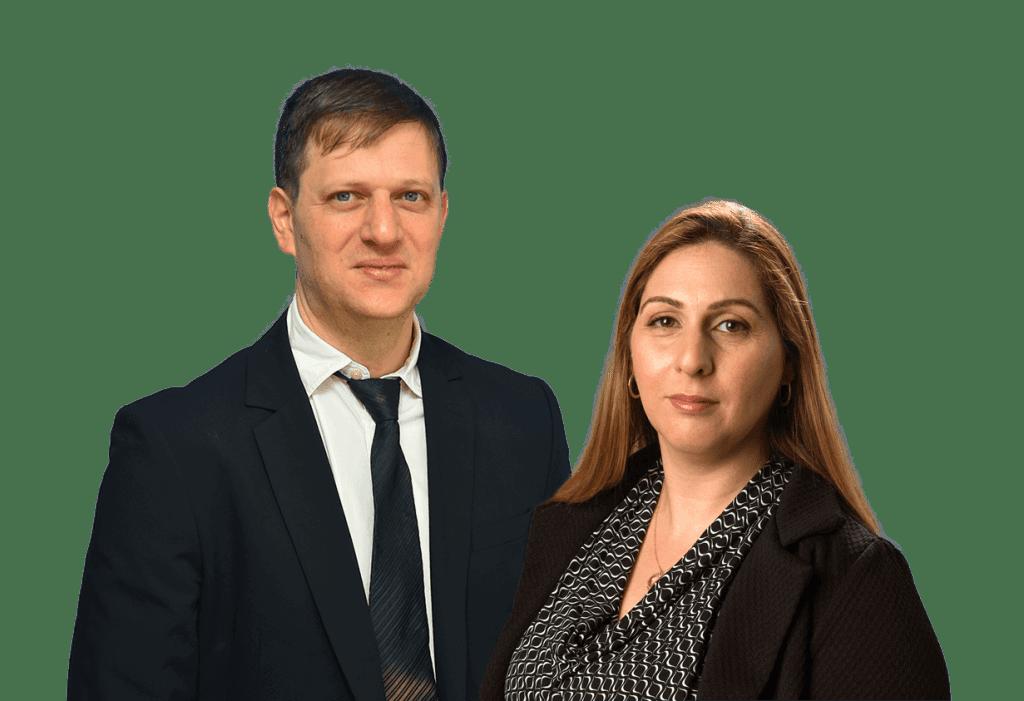עורך דין שרית פייפר כהן ועורך דין אייל פייפר